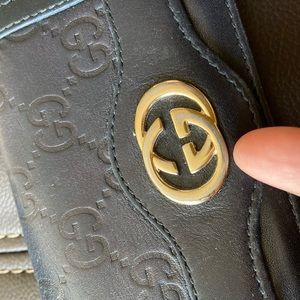 Authentic Gucci card wallet